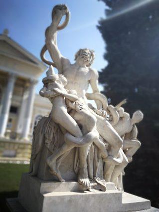 Скульптура Лаокоон и его сыновья в Одессе